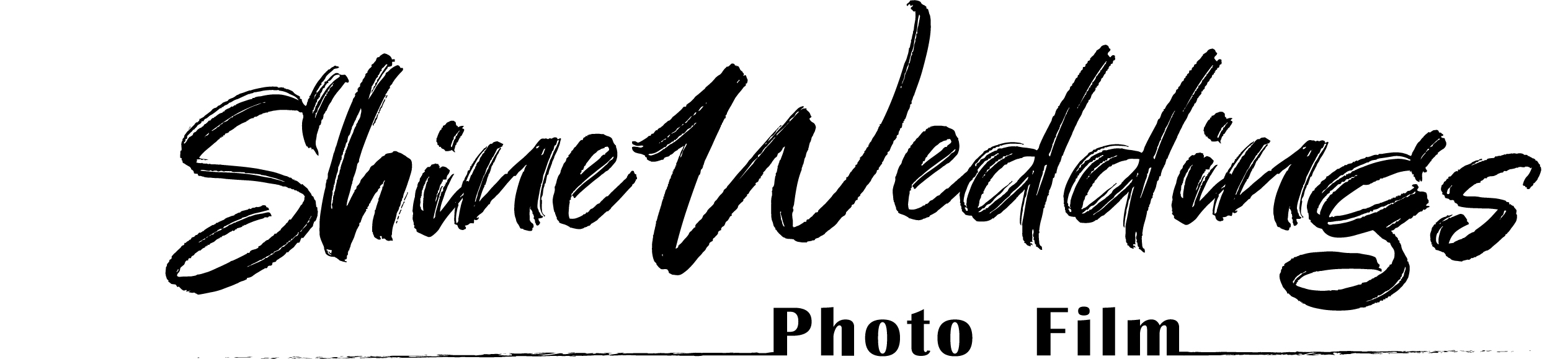 Shine Weddings Photo Film Logo